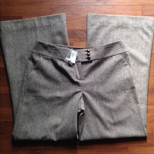 The Limited Cassidy Fit Brown Career Pants Size 14